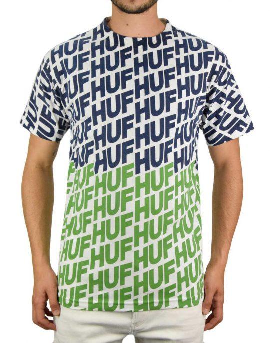 Huf Wave Tee (TS01001) Hot Lime