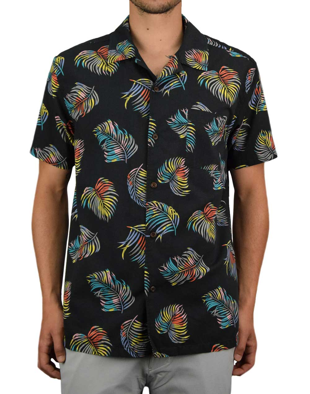Hurley Botanical T-Shirt (CN9829-010) Black