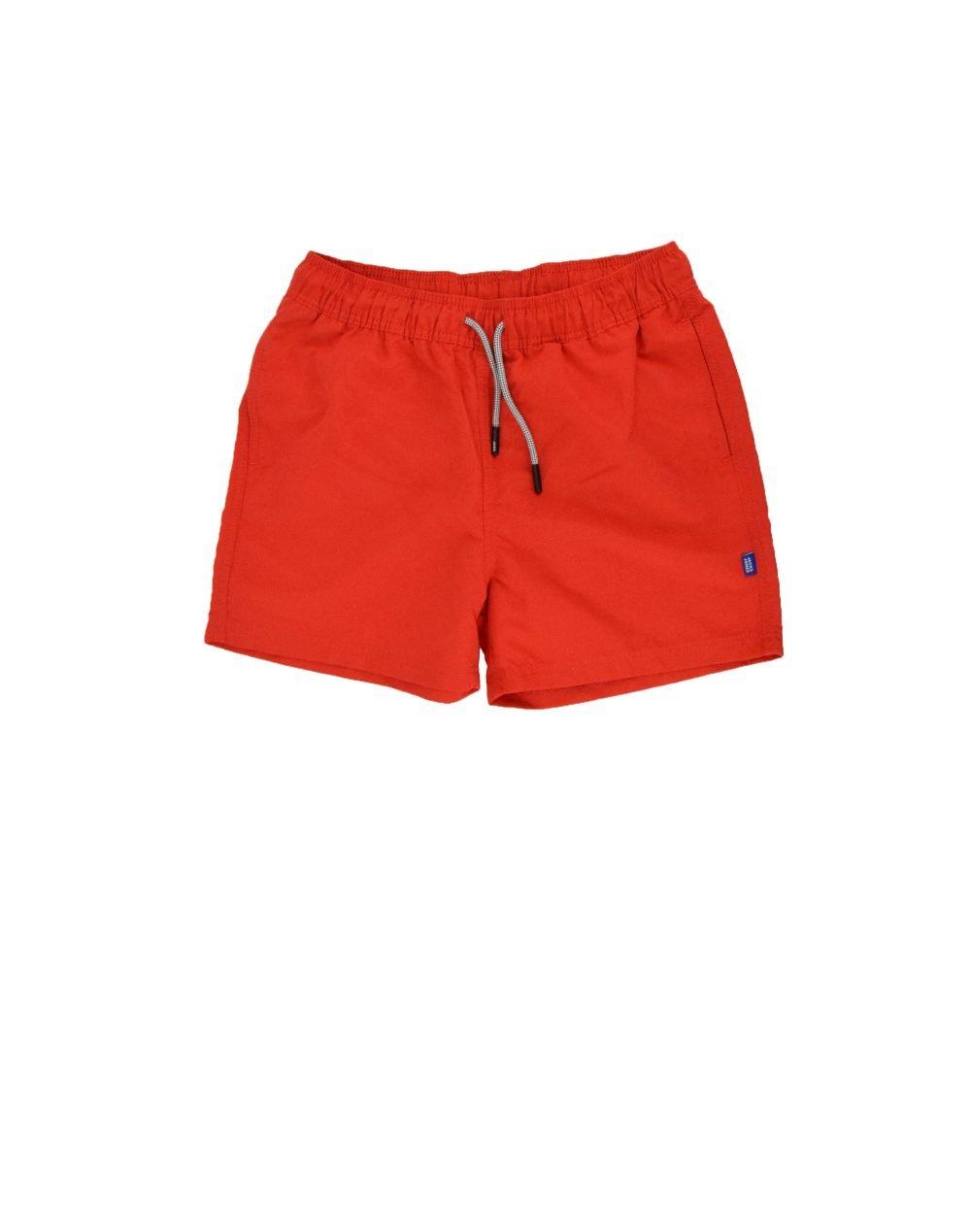 Jack & Jones Aruba Swim Shorts Solid Junior (12166328) Fiery Red