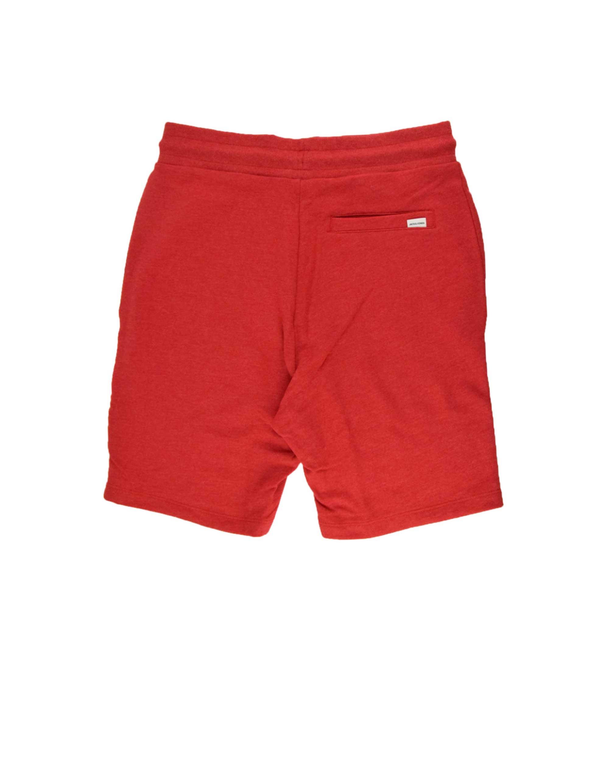 Jack & Jones Shark Sweat Short (12174129) Tango Red