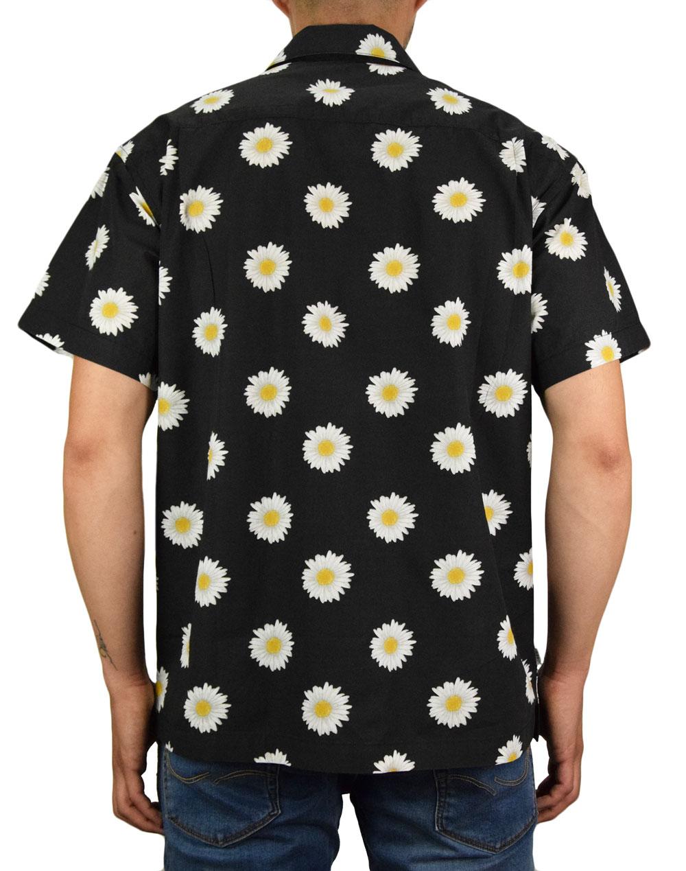 Obey Ideals Organic Daisy Woven T Shirt (181210291) Black Multi