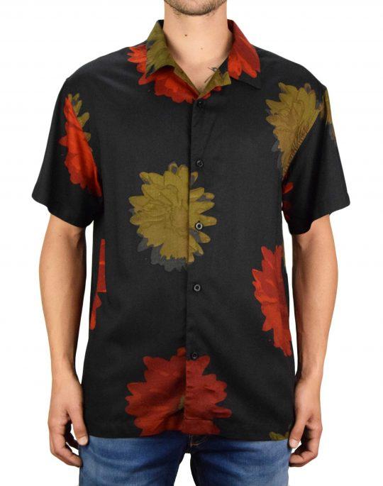 Obey Lou Woven T Shirt (181210279) Black Multi