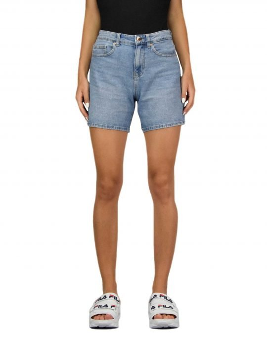 Only Phine Life Shorts (15196224) Light Blue Denim