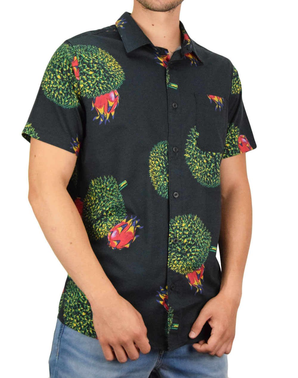 Roark Durian Shirt (RW468) Black