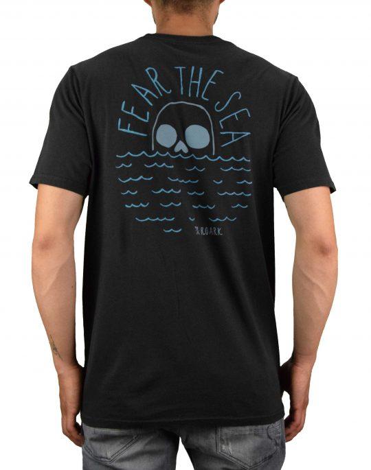Roark Fear The Sea Tee (RT684) Black