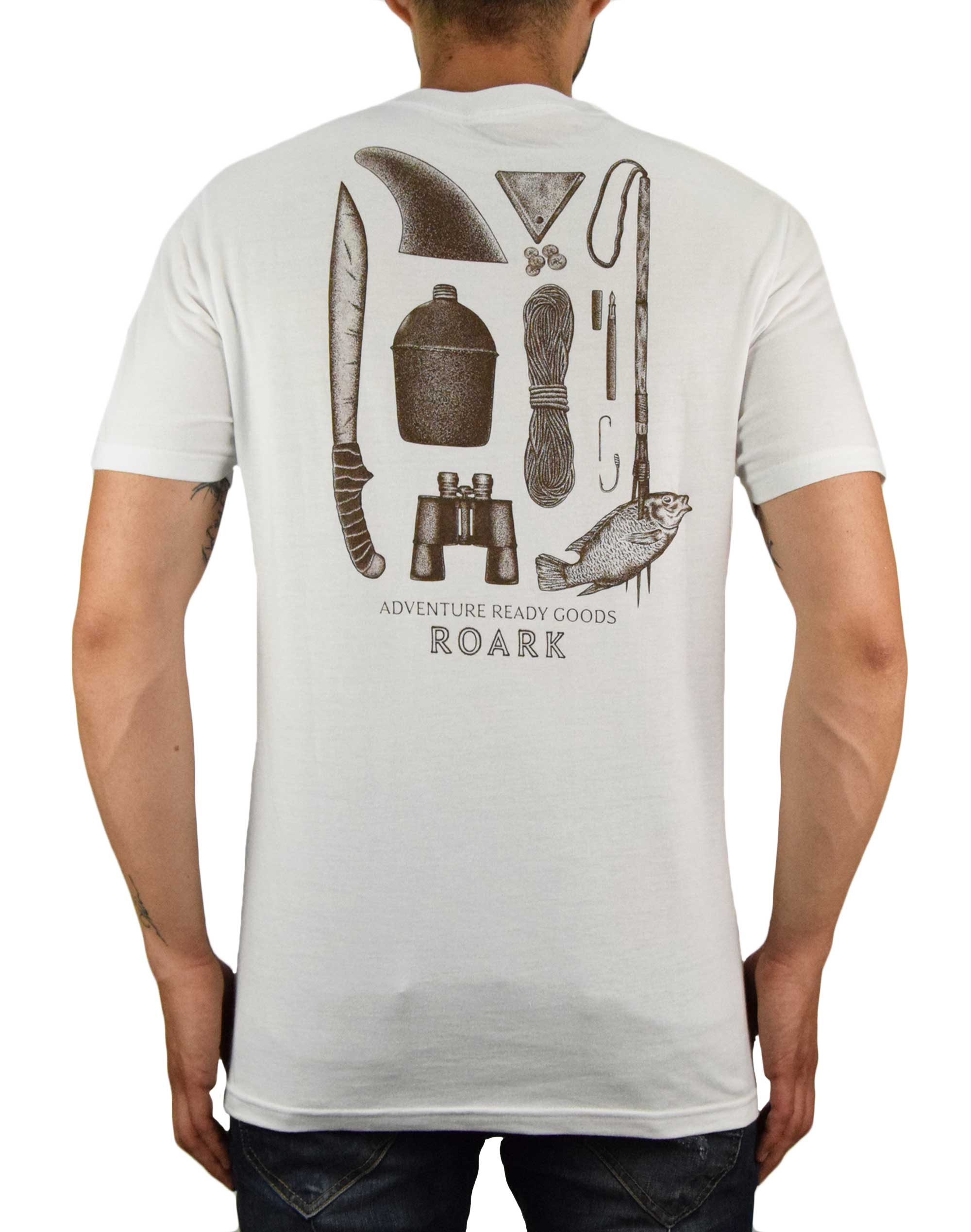 Roark Survival Kit Tee (RT679) White