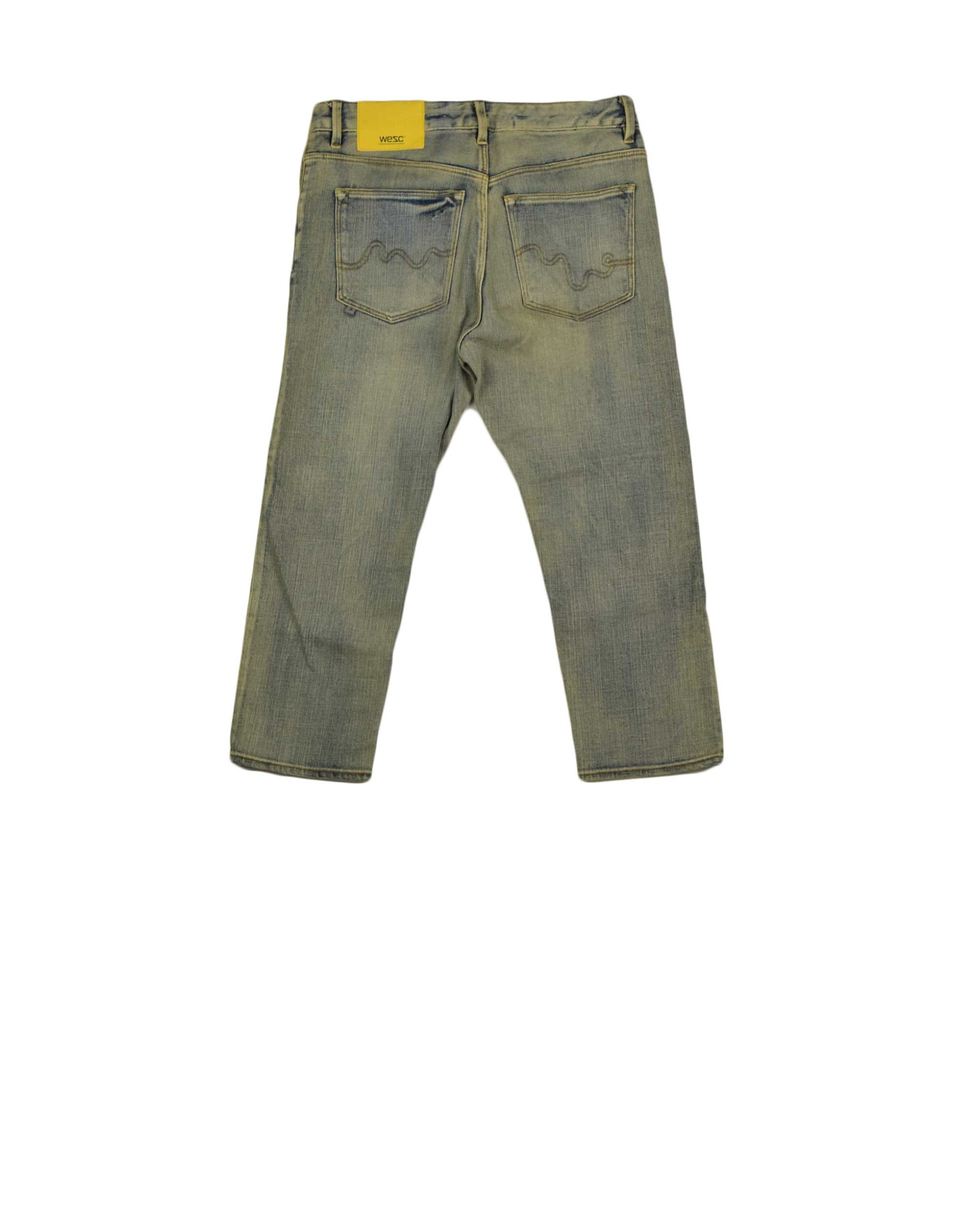 Wesc Louisa Tapered Cropped (091WE-00113) Faded Stretch