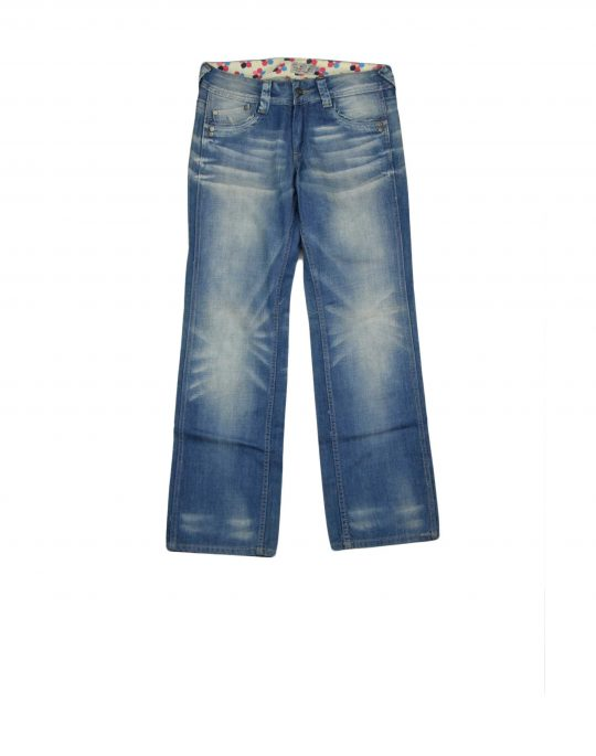 The Full Frontal Jean (6090) Stonewash