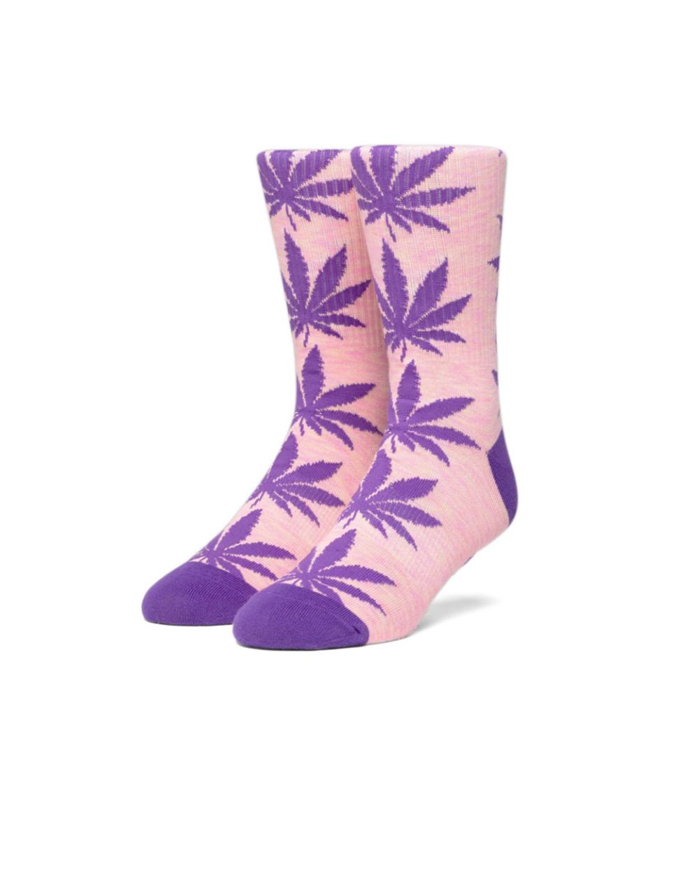 Huf Plantlife Melange Socks (SK00444) Coral Pink