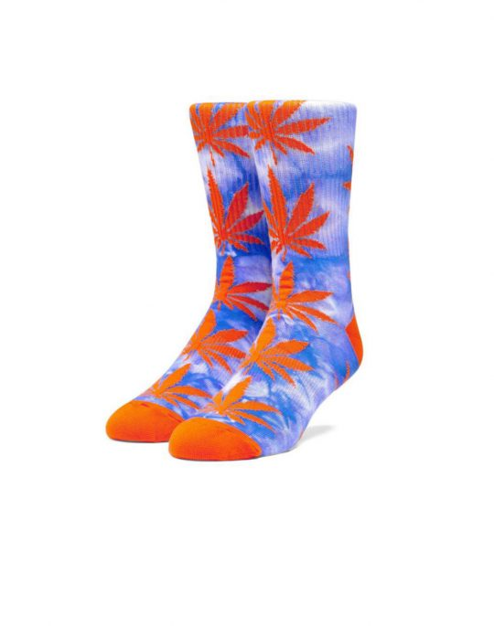 Huf Plantlife Tiedye Socks (SK00432) Olympian Blue
