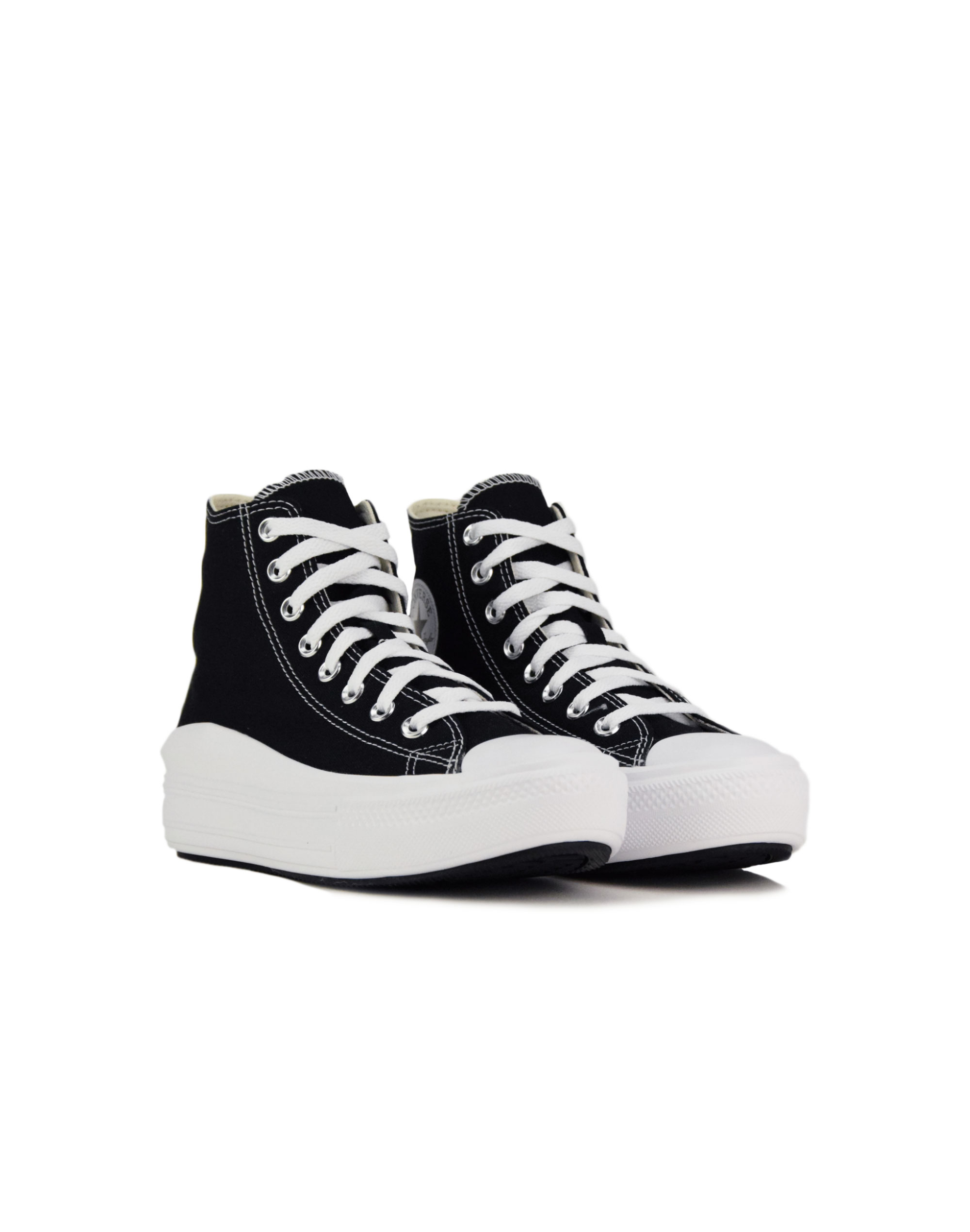 Converse Chuck Taylor All Star Move Hi Top (568497C) Black/Natural Ivory/White