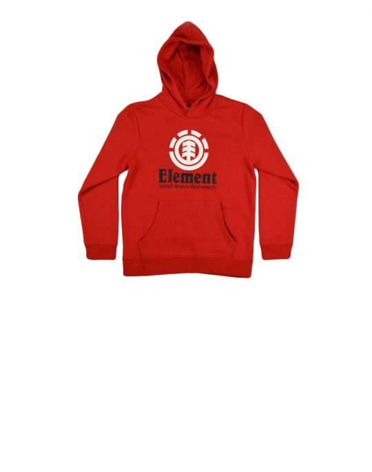 Element Vertical Hood Boy (U2HOA6 ELFO 6761) Fire Red