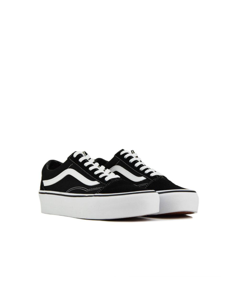Vans Old Skool Platform (VN0A3B3UY281) Black/White