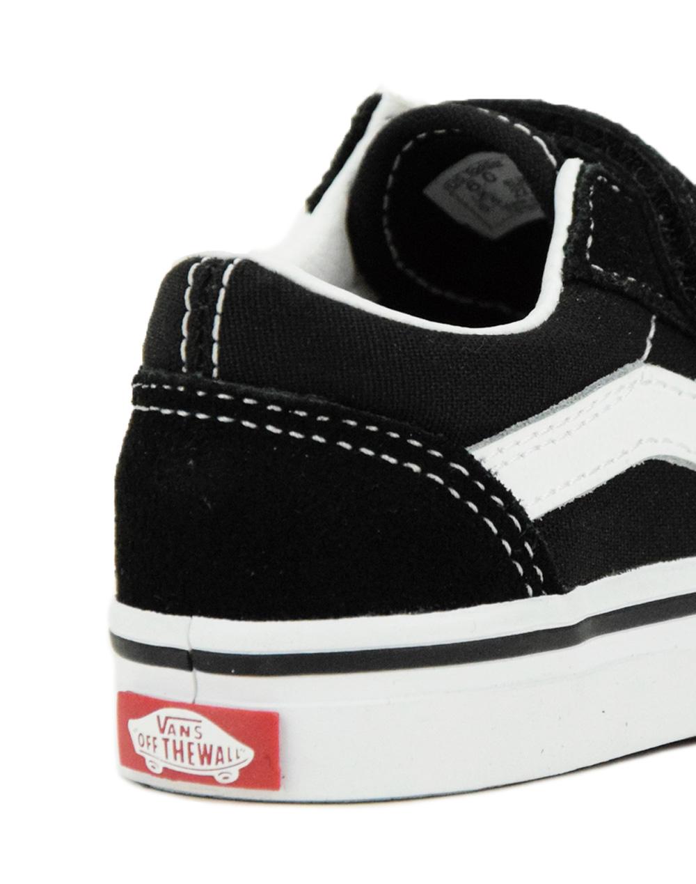 Vans Old Skool V (VN000D3YBLK1) Black/White