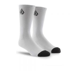Volcom Full Stone Sock 3 Pack (D6302004 WHT) White