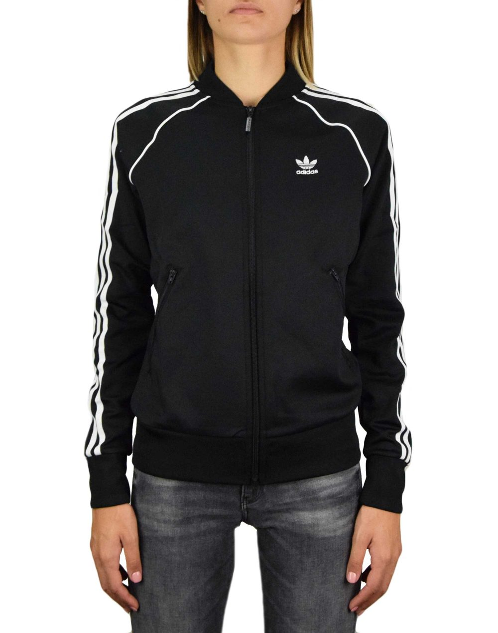 Adidas SST Primeblue Track Top (GD2374) Black/White