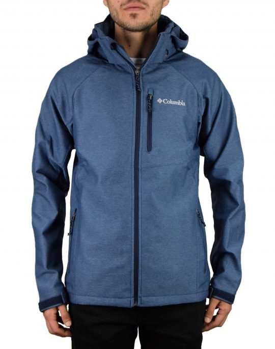 Columbia Cascade Ridge™ II Softshell Jacket (WM3241-465) Heather Blue