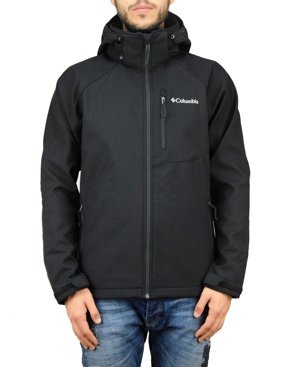 Columbia Cascade Ridge II Softshell (WM3241-011) Black