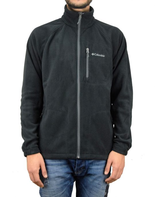 Columbia Fast Trek II Full Zip Fleece (AM3039-010) Black