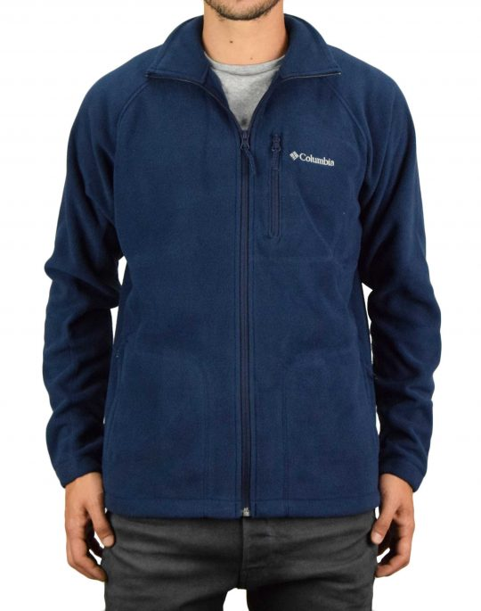 Columbia Fast Trek™ II Full Zip Fleece (AM3039-468) Navy