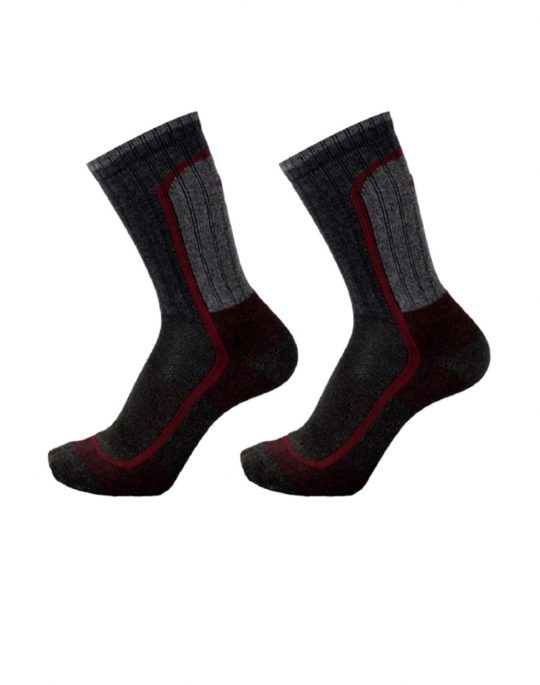 Columbia Moisture Control Block Crew 2 Pair Socks (C775B-2010) Black