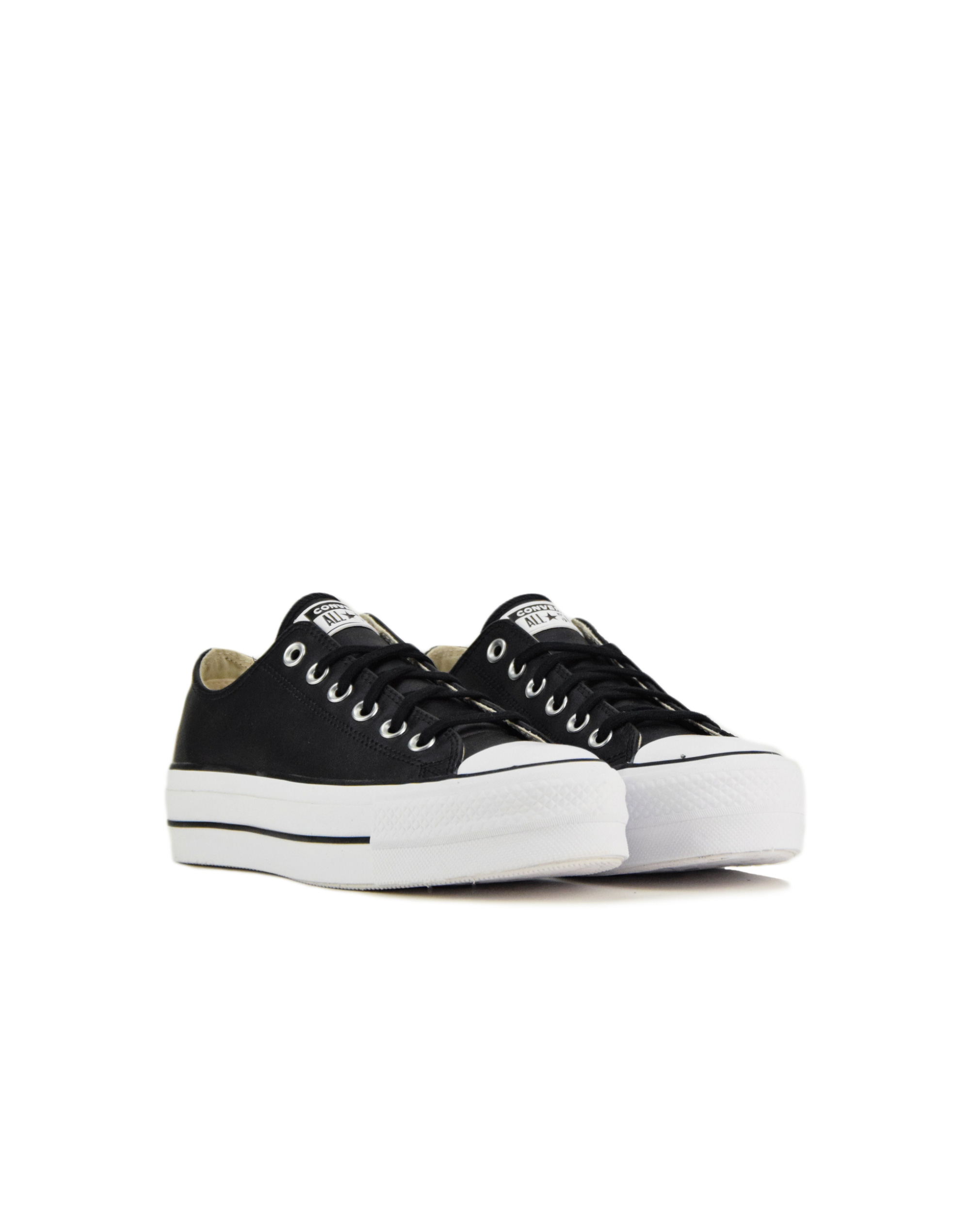 Converse Chuck Taylor All Star Lift Clean OX (561681) Black/White