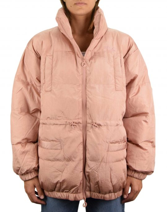 Fila Samaira Irides Puffer Jacket (LLW037771 686) Mistrose/Irredescent