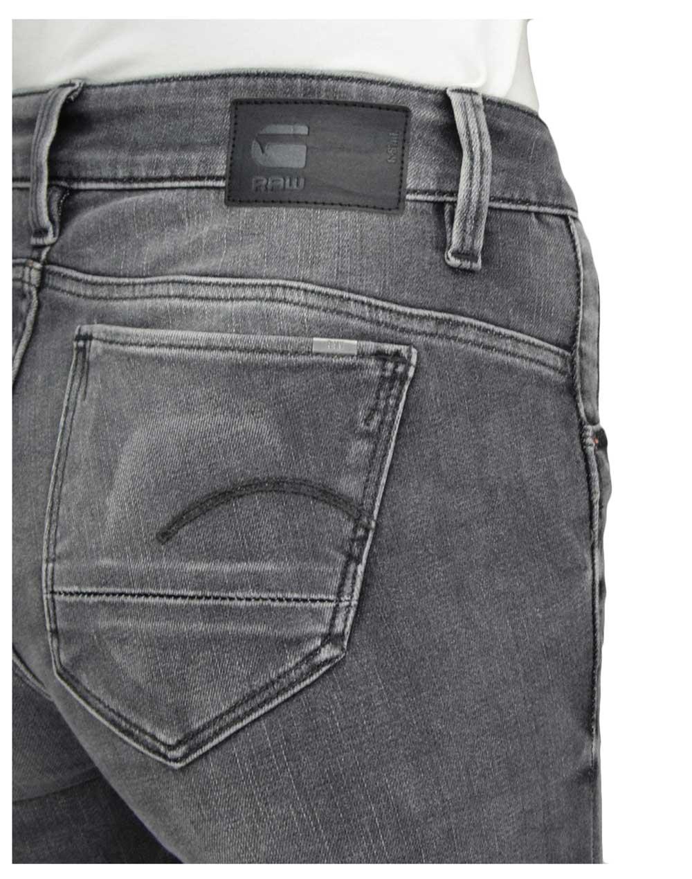 G-Star Raw Arc 3D Mid Skinny (D05477-A634-B168) Vintage Basalt