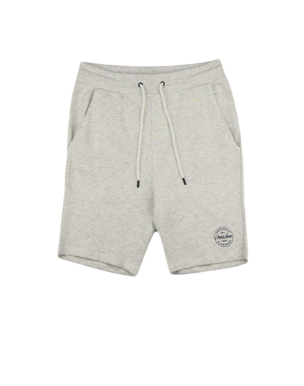 Jack & Jones Shark Sweat Short (12174129) White Melange