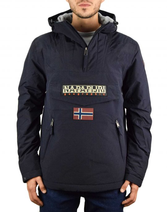 Napapijri Rainforest Pocket 1 Jacket (NP0A4EGY1761) Blue Marine