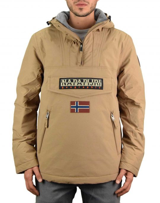Napapijri Rainforest Pocket 1 Jacket (NP0A4EGYNC21) Beige Portabel