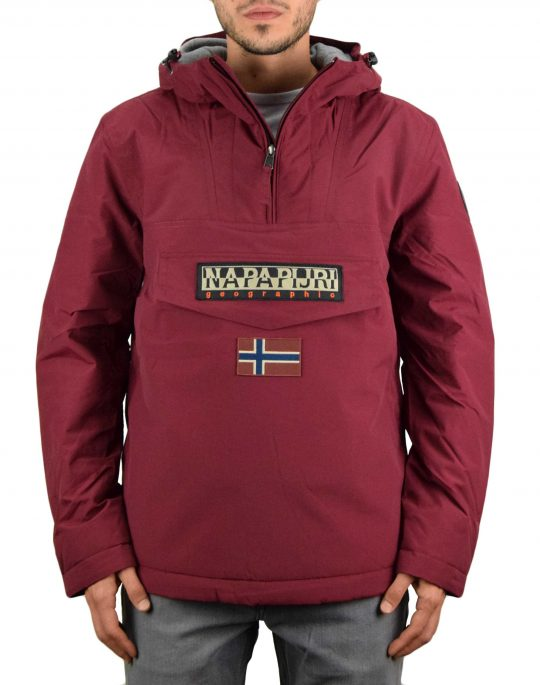 Napapijri Rainforest Winter 2 Jacket (NP0A4EGZR541) Vint Amaranth