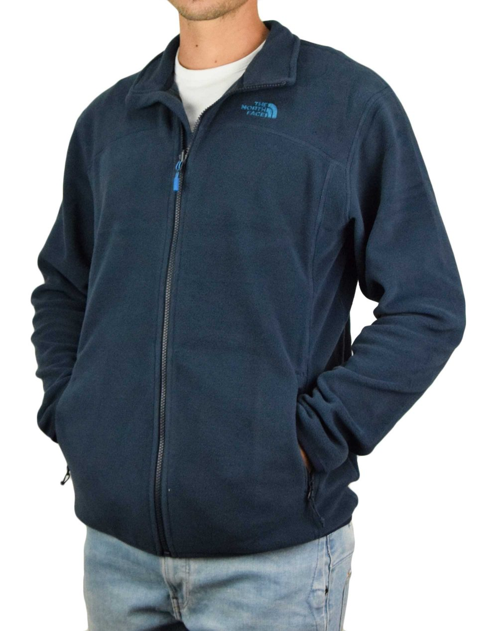 The North Face 100 Glacier Full Zip (NF0A2UAQH2G1) Urban Navy