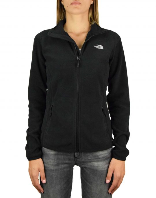 The North Face 100 Glacier Full Zip (NF0A2UAUJK31) Black