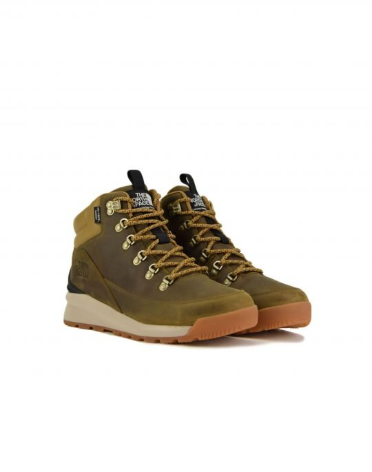 The North Face Back To Berkeley Mid (NF0A4AZEYW21) Utility Brown/Black