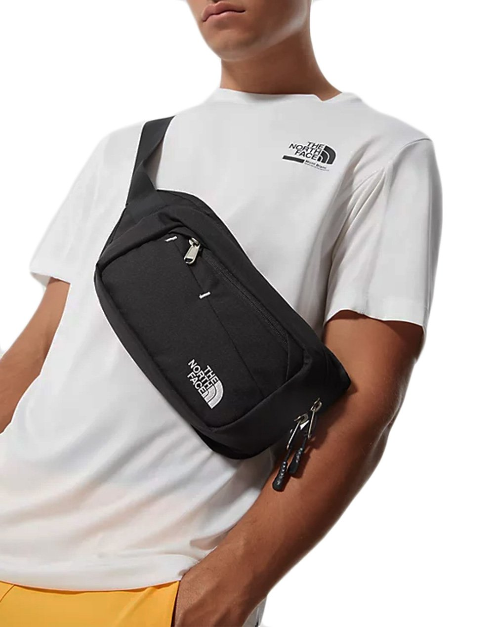 The North Face Bozer Hip Pack II  (NF0A2UCXKY41) Black/White