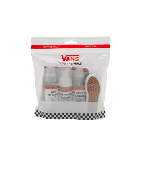 Vans Shoe Care Travel Kit (VN0A3IHTWHT1) Global White