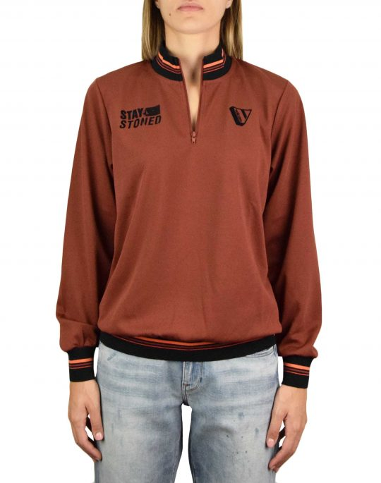 Volcom Gangstone Top (B0332050 BRK) Brick