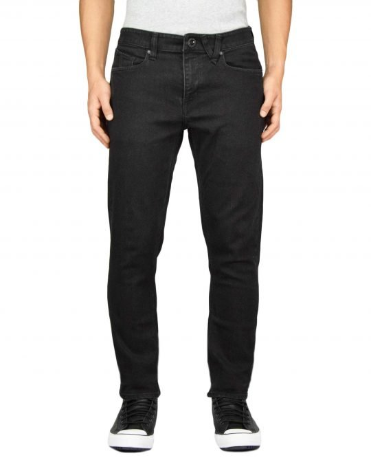 Volcom Vorta Slim Denim (A1931501 BKO) Blackout