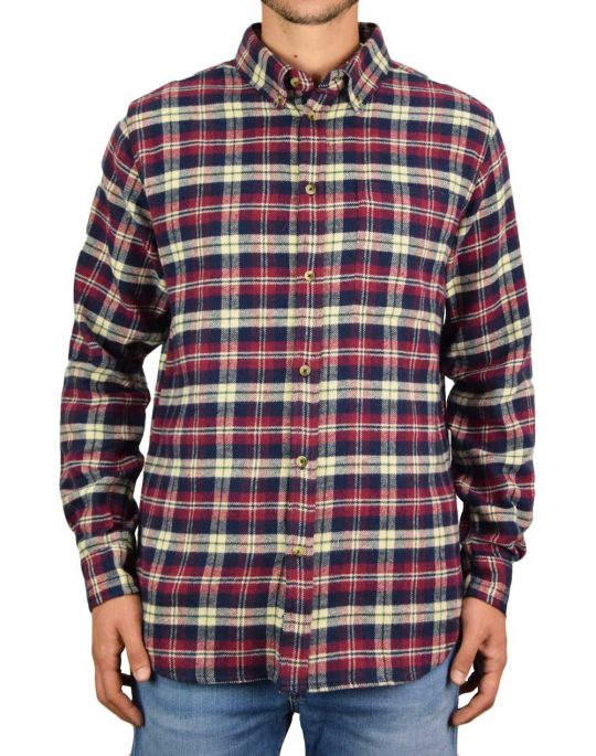 Anerkjendt Aklouis Check Shirt (9520023 3059) Sky Captain
