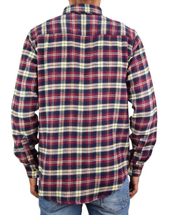 Anerkjendt Aklouis Check Shirt (9520023 3059) Sky Captain