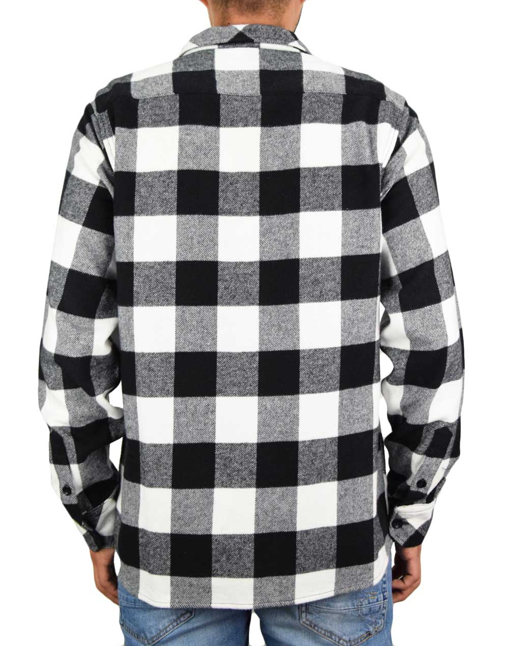 Dickies Sacramento Relaxed Shirt (DK0A4X8NBLK1) Black/White