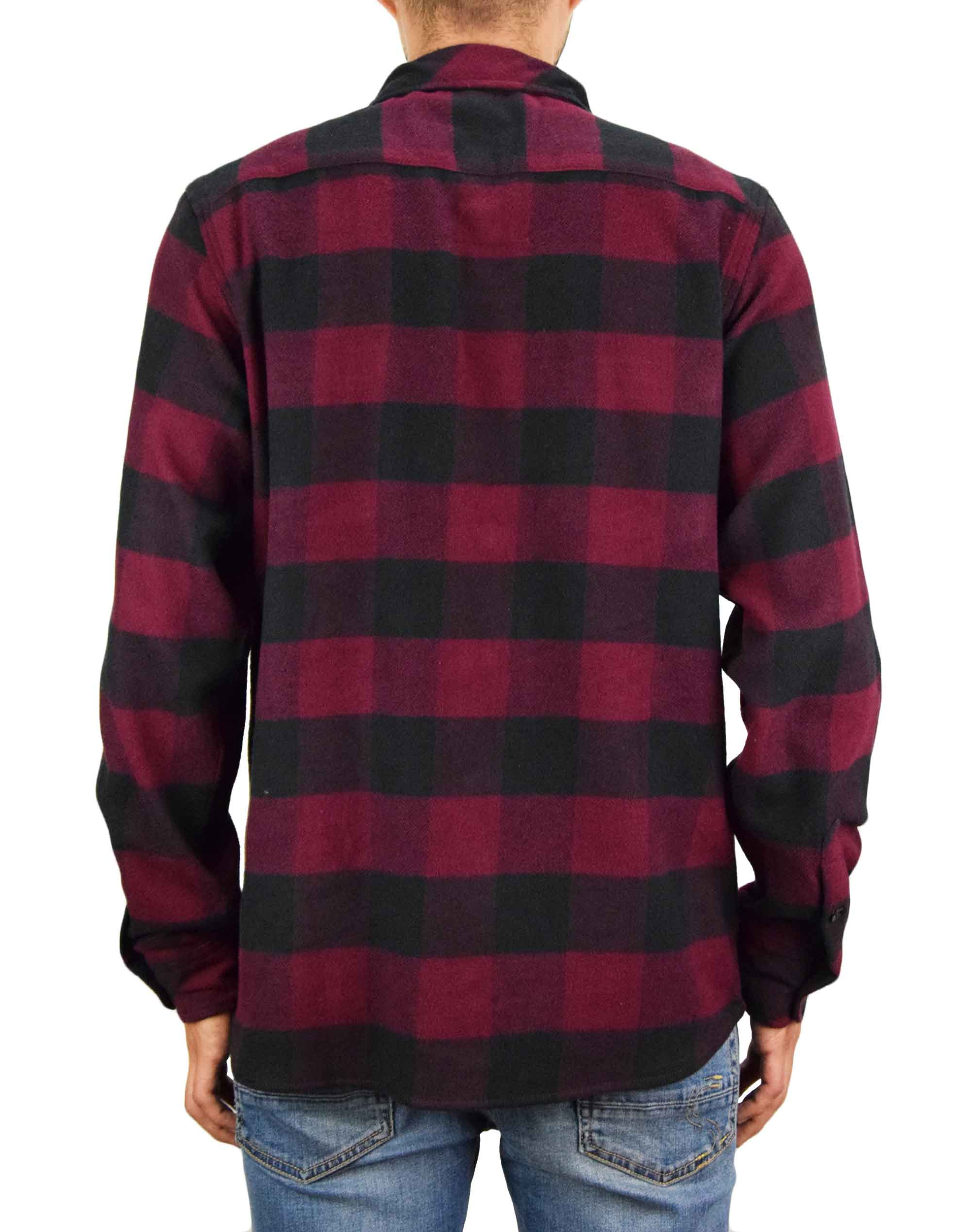 Dickies Sacramento Relaxed Shirt (DK0A4X8NMR01) Maroon/Black
