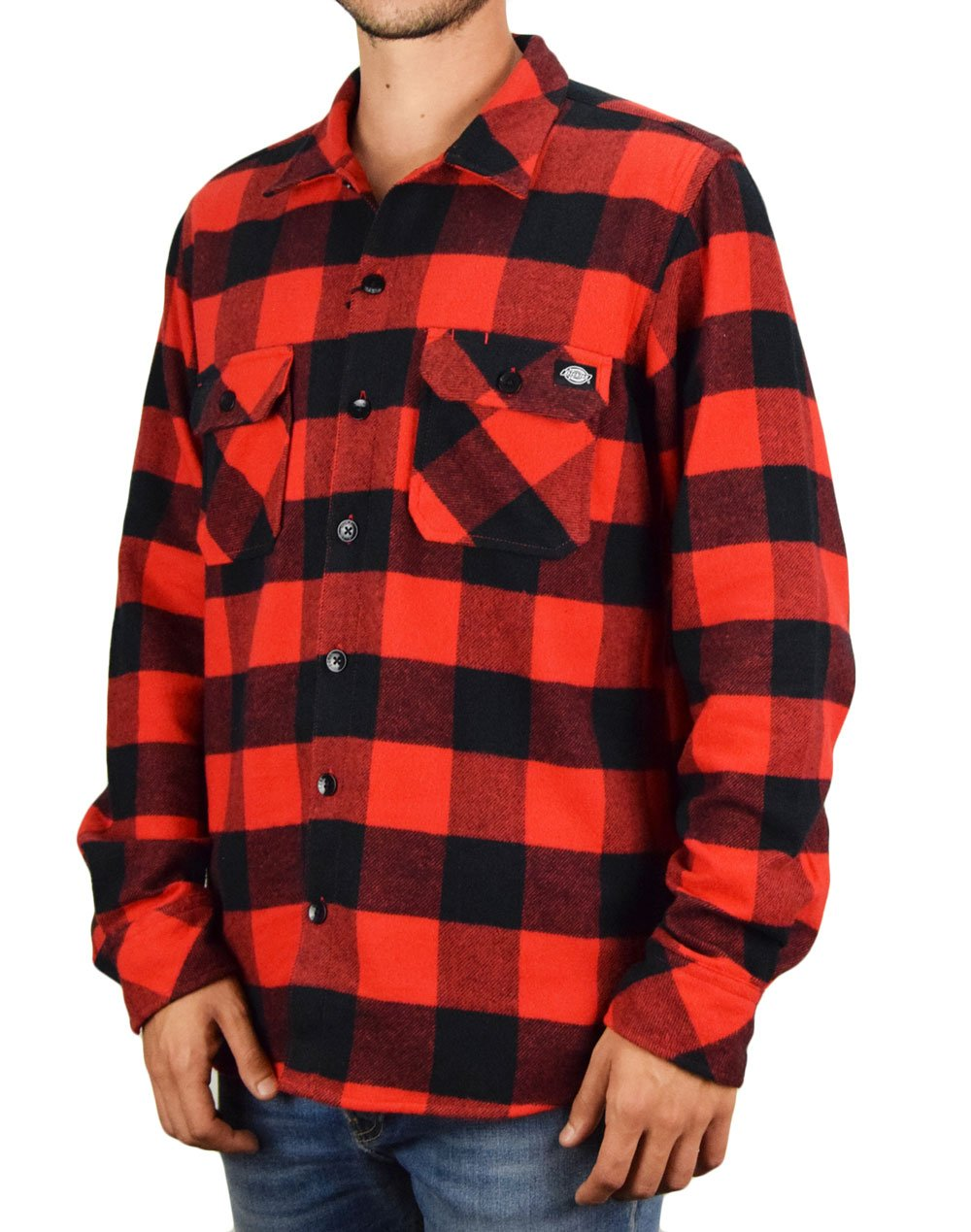 Dickies Sacramento Relaxed Shirt (DK0A4X8NRDX1) Red/Black