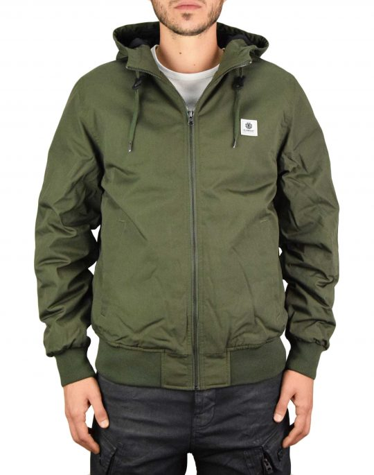 Element Dulcey Jacket (U1JKF2 ELF0 1366) Forest Night