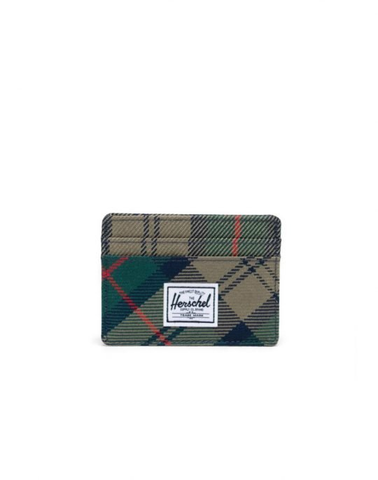 Herschel Supply Charlie RFID (10360-04080) Eden Plaid
