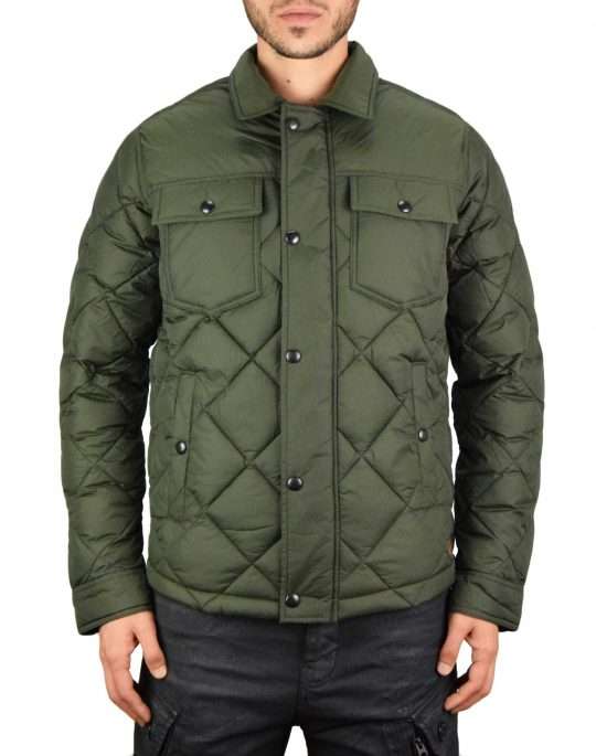 Jack & Jones Albert Quilt Jacket (12173994) Forest Night
