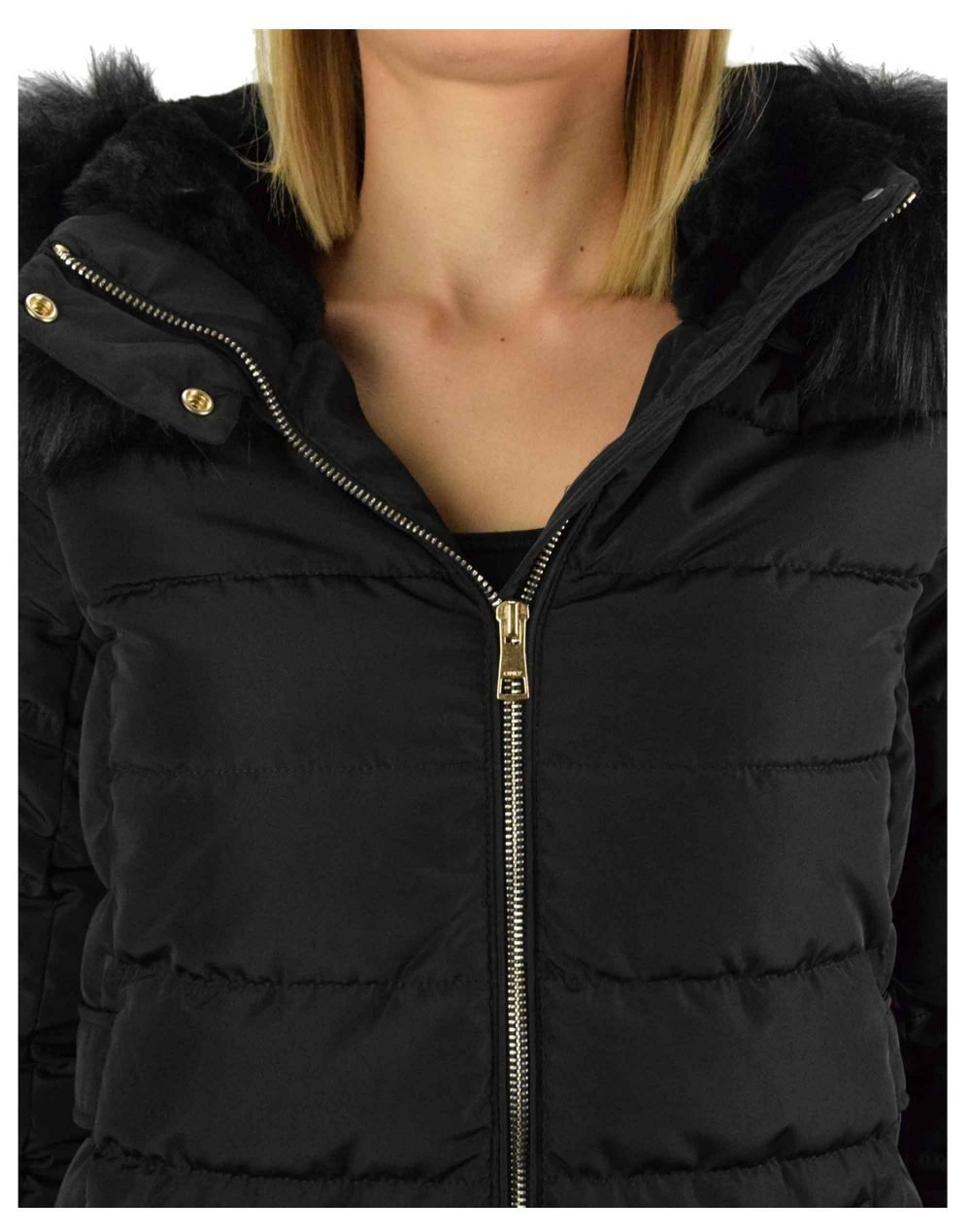 Only Camilla Quilted Coat (15204606) Black