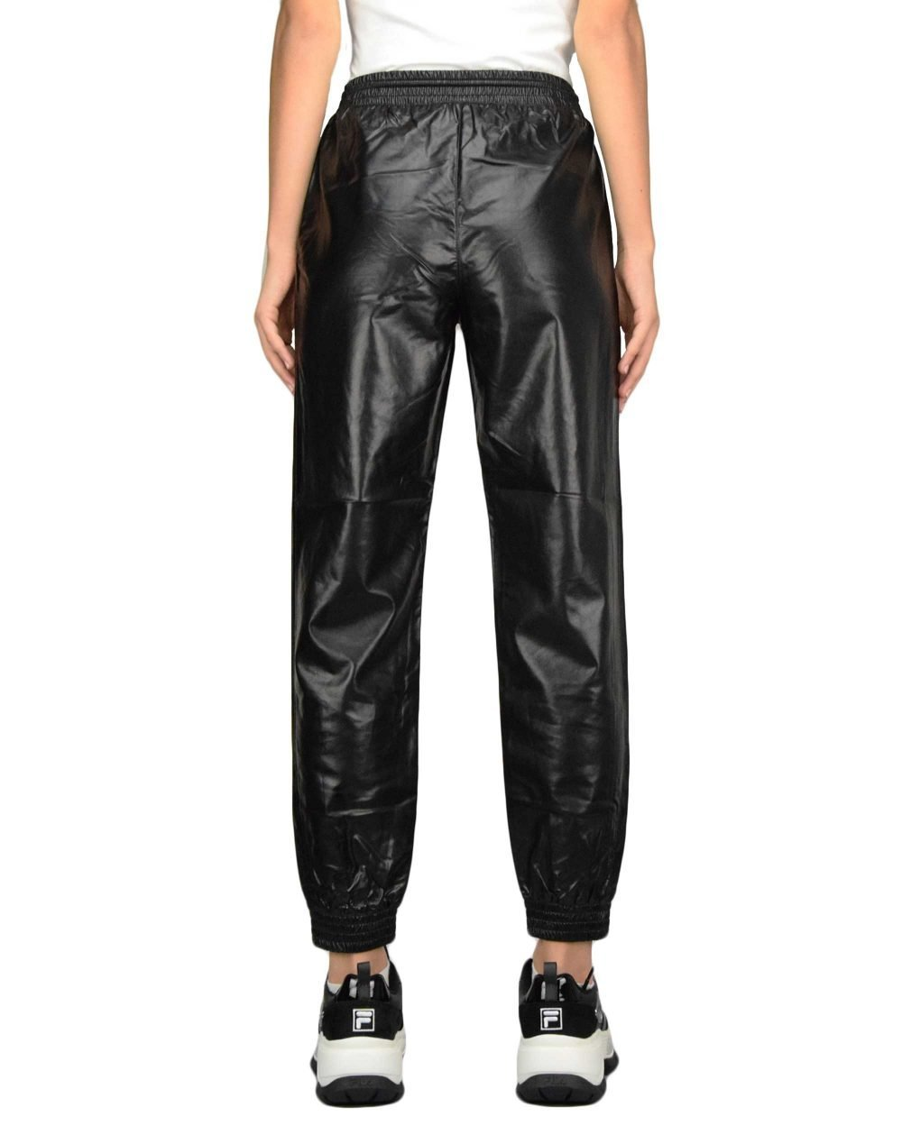 Only Mady-Callee Faux Leather Pant (15206642) Black