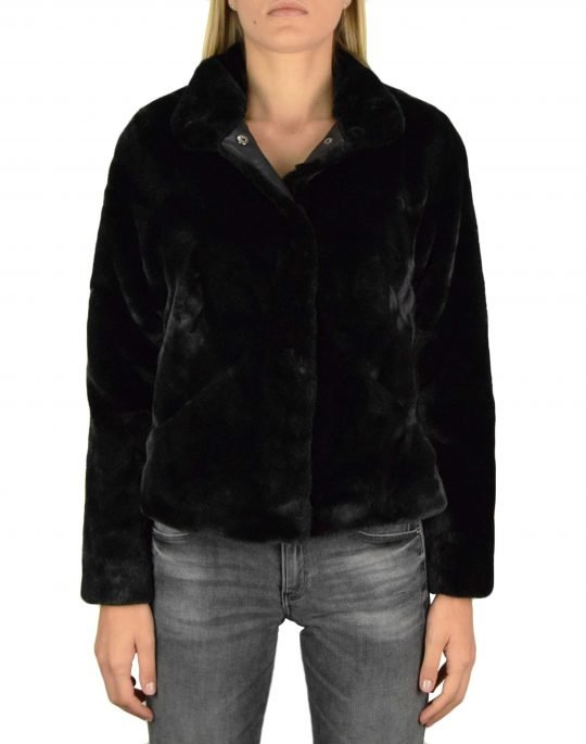 Only Vida Faux Fur Jacket (15160013) Black